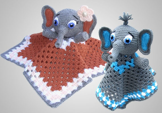 11 Free Crochet Elephant Patterns | 399x570