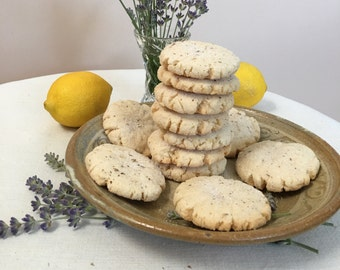 Lemon Lavender Cookies - ONE DOZEN