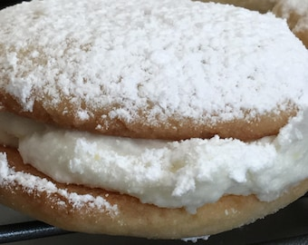 Polish Lemon Tea Sandwich Cookies (One Dozen)