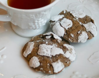 Chocolate Crinkles (TWO DOZEN)