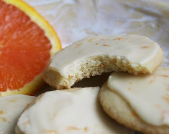 Frosted Orange Wafers (ONE DOZEN)