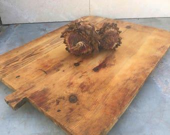 Antique Wood Cutting Board, Wood Serving Board,Handmade Wooden Board