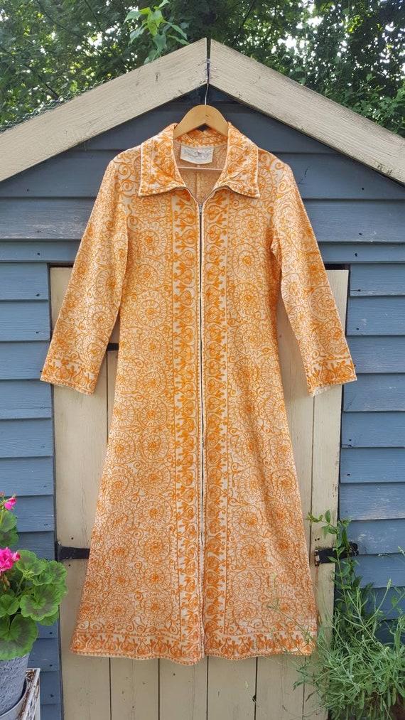 Ayesha Indian embroidered long line jacket ethnic… - image 8