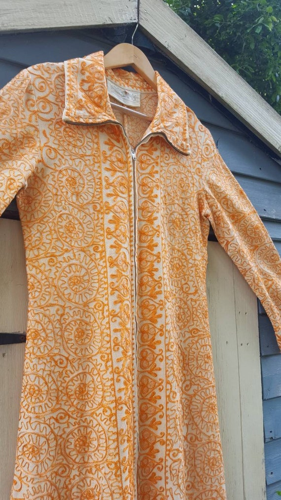 Ayesha Indian embroidered long line jacket ethnic… - image 6