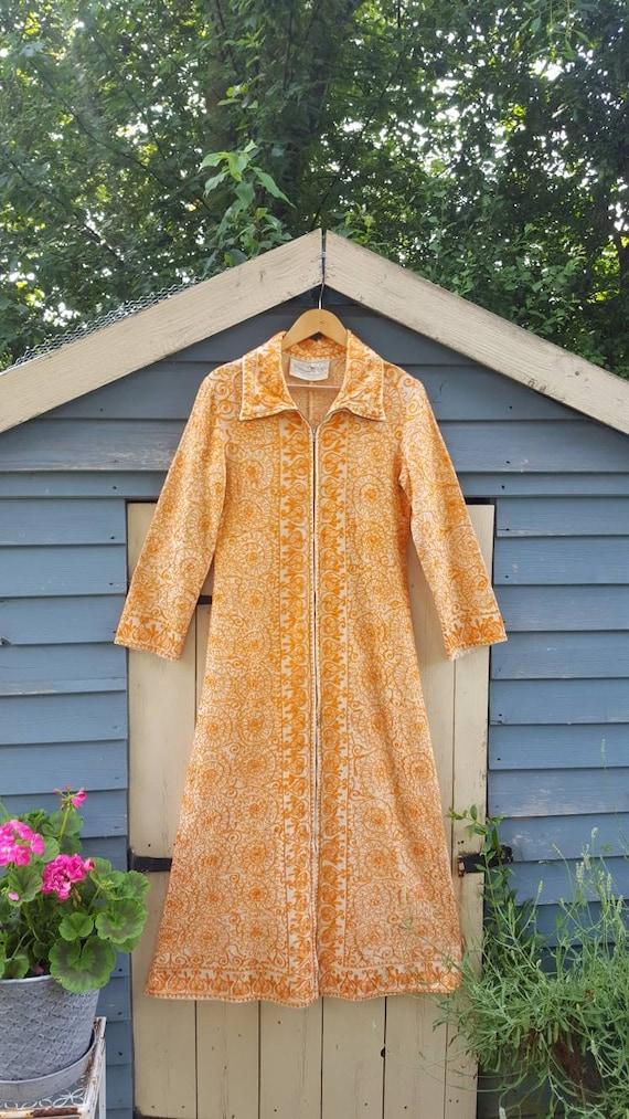 Ayesha Indian embroidered long line jacket ethnic… - image 4