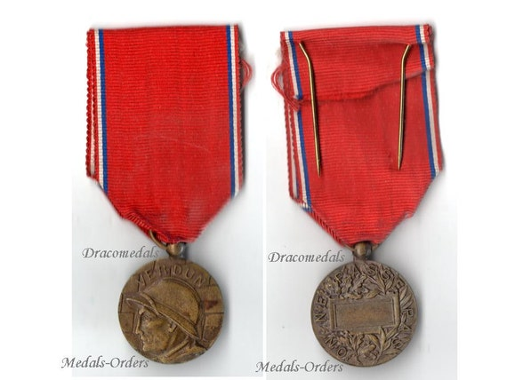 b4b2874ede0bb2 Médaille de FRANCE WW1 Verdun 1916 sur ne passe pas la   Etsy