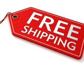 Free Shipping on all orders over 60 dollars US. Canada and United States only.