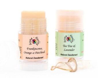 Natural Deodorant, Twist Up Tube