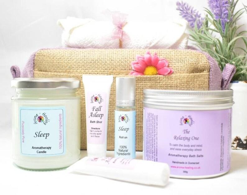 Lavender Sleep Gift Set Gift Bag image 0