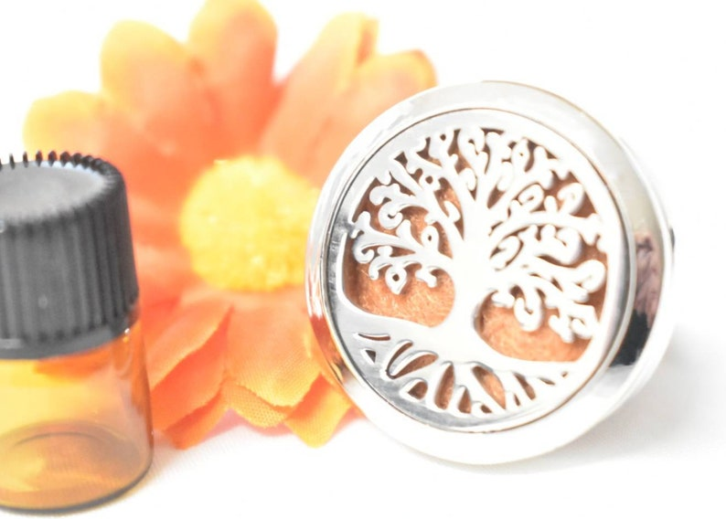 Tree Of Life Car Vent Air Freshener Gift Boxed With Oil And image 0