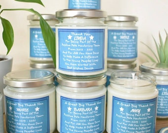 Corporate Gift, Gift For Employees, Team Building Candle, Business Incentives, Work Gift, Colleague Gift, Personalised.
