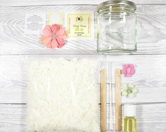 Candle Making Kit, DIY Candle, Art And Craft Kit, Make Your Own Candle Gift Box