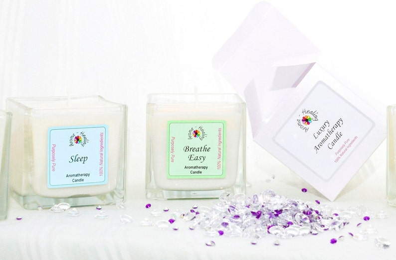 Luxury Gift Candle  Boxed Candle  Friend Gift  Gift  Soy image 0