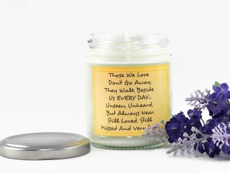 Those We Love... Scented Soy Candle  Aromatherapy Candle  In image 0
