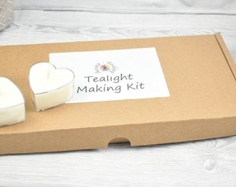 Craft Gift For Her, DIY Candle Kit, Candle Making Set