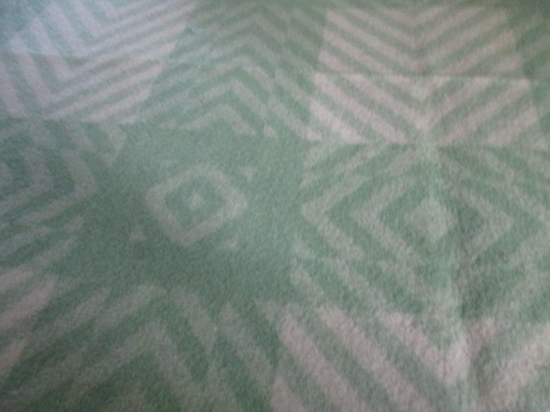 """Belle couverture de camp de laine d'Esmond, liaison de satin, mesures 67 """"x87"""", grande condition de cru"""