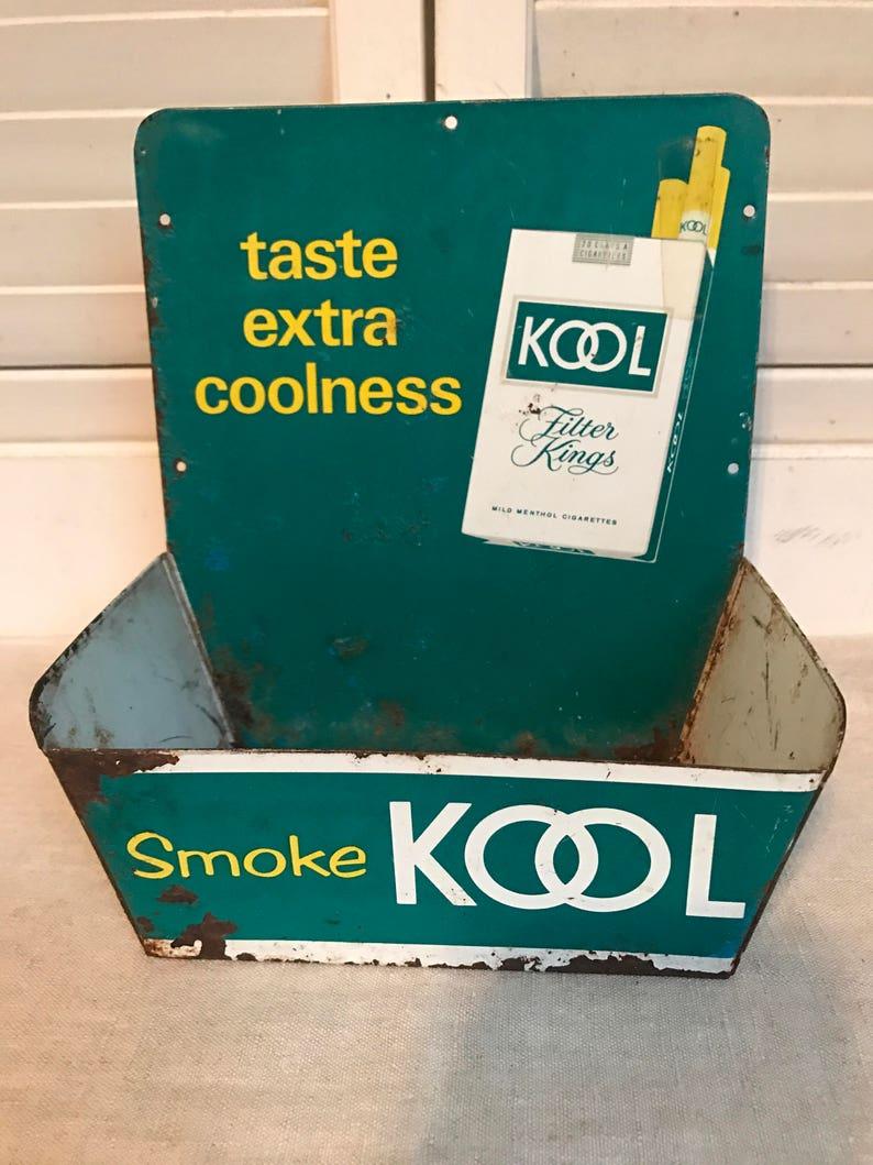 Super KOOL Match Holder, Vintage Service Station Display,