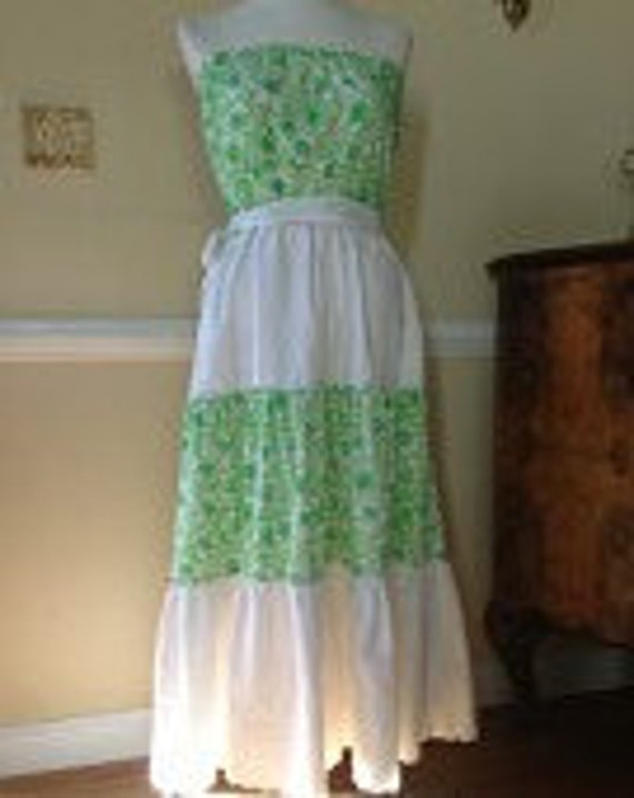 LILLY PULITZER Liza label Maxi Dress 1960s Lilly … - image 2