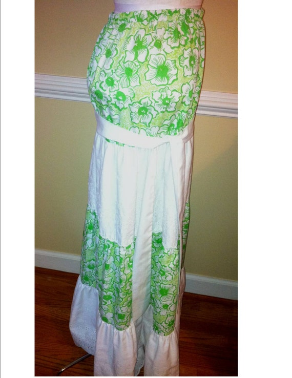 LILLY PULITZER Liza label Maxi Dress 1960s Lilly … - image 4