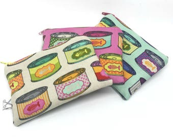 Mini zipper pouch Cat Snacks