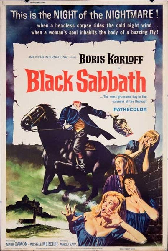 nightmare 1964 poster