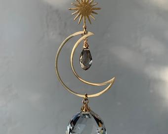 Simple moon Suncatcher