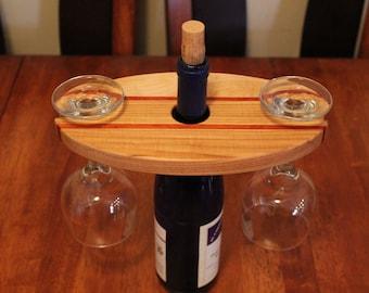 Wine Glass Holder, Wine Gift, Wine Accessory, Wine Accessories, Glass Holder, Kitchen Decor, Barware, Bar Decor, Wine Lover, Gift For Her