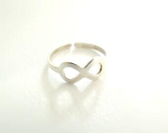 Δαχτυλίδι ασημί με το σύμβολο άπειρο / Silver infinity ring