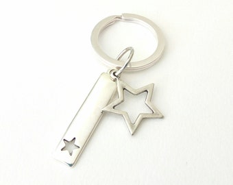 Keychain with stars /Mπρελόκ με αστέρια