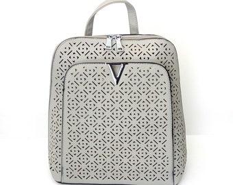 Γκρι σακίδιο πλάτης / Grey backpack