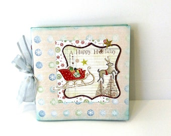 Christmas mini album / Χειροποίητο άλμπουμ για τα Χριστούγεννα