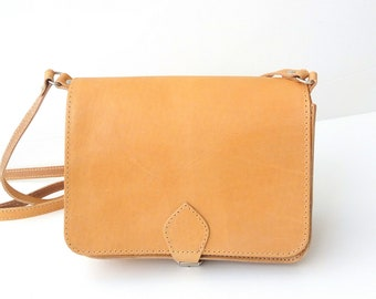 Crossbody leather bag, Greek leather bag, Women handbag, Small Leather Saddle Bag, Mini crossbody bag, Shoulder bag, Women saddle bag
