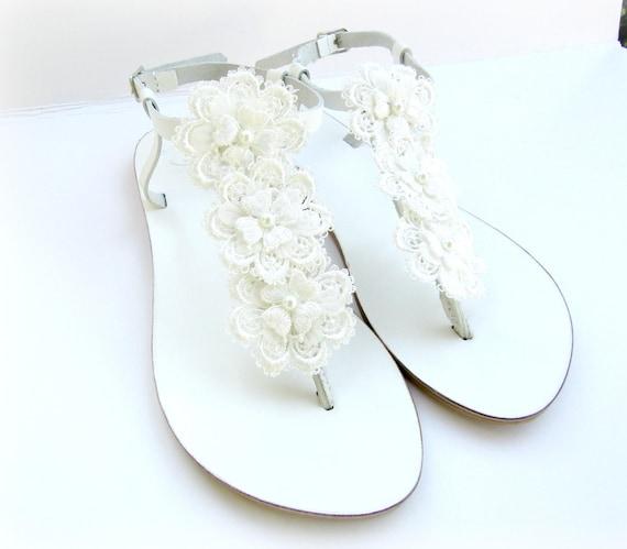 Wedding white sandals greek leather white sandals etsy image 0 mightylinksfo