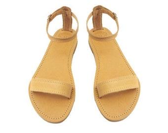 Greek Sandals, Ankle strap sandals, Ancient Greek sandals, Strappy sandals, Women sandals, Summer shoes, Beach flats, Bridal party shoes