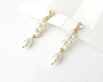 Pearl earrings, Σκουλαρίκια με πέρλες