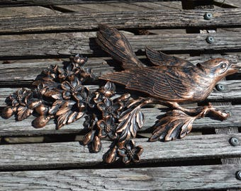 Bird Wall Plaque from Sixties