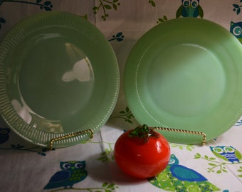 Jane Ray Jadeite dinner plates