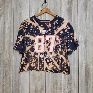 Patriots Patriots Stonewash Full Zip Hoodie w Heart Back New England Patriots Sweatshirt New England Patriots Reverse Dye Hoodie