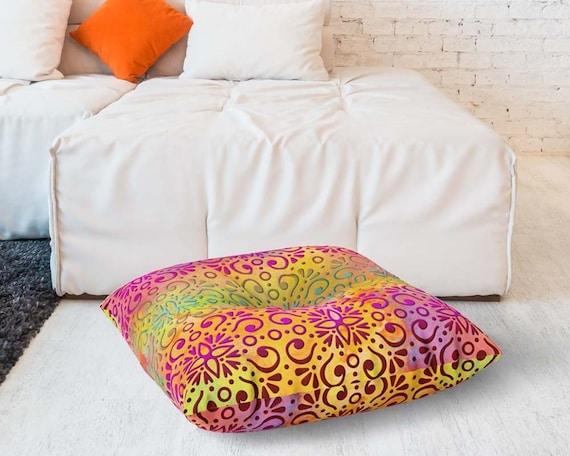 Boho Style Floor Cushion Meditation Pillow Bohemian Home Decor Yoga Lover Gift Pfdp050 5