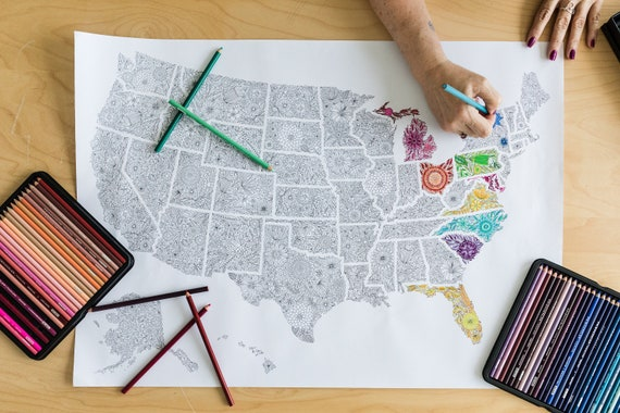 US Map Coloring Pages - Best Coloring Pages For Kids | 380x570