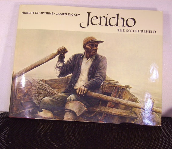 Coffee Table Art Books: Vintage Coffee Table Art Book Jericho The South Beheld