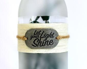 Wine botte light Shine