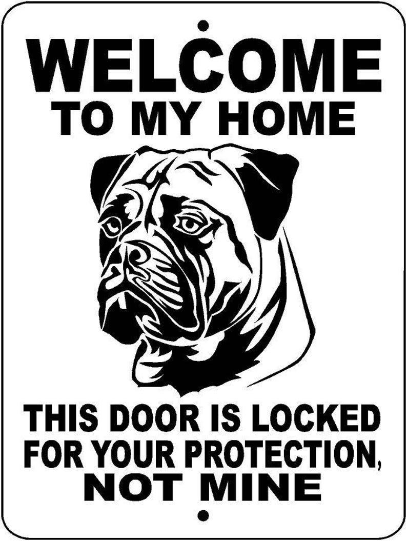 South African BoerBoel Dog Sign 9