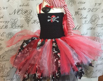 Pirate costume for girls Halloween ,FREE pouch of gold,dress up plays,just for fun Captain Hook