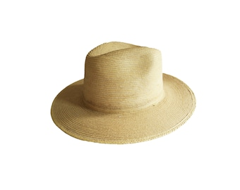 Vintage The San Francisco Hat Co. Natural Mexican Straw Wide Brim Hat
