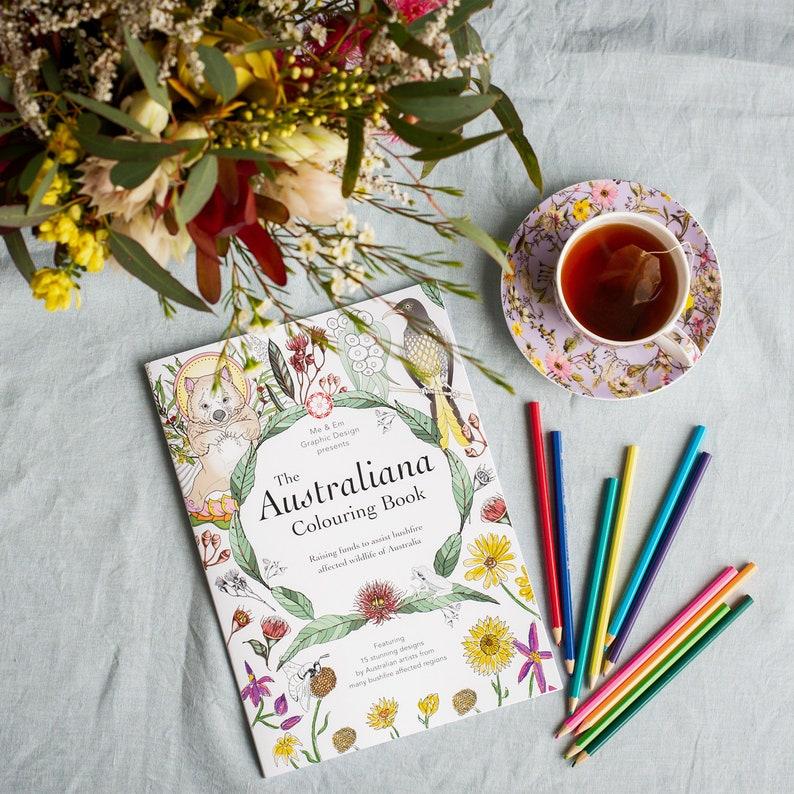 Australiana Colouring Book image 0