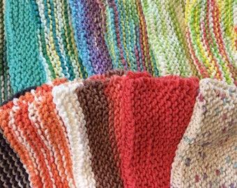 Hand made cotton dish cloths