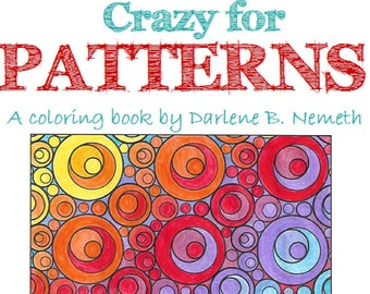 25 Coloring Pages Geometric Patterns Book