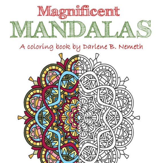 mandalas coloring for artists creative stress relieving adult coloring