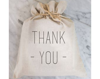 Thank You Gift Bag // Gift Wrap // Packaging Bag // Present // Party Favor // Wedding Favor // Gift Bag // Hostess Gift
